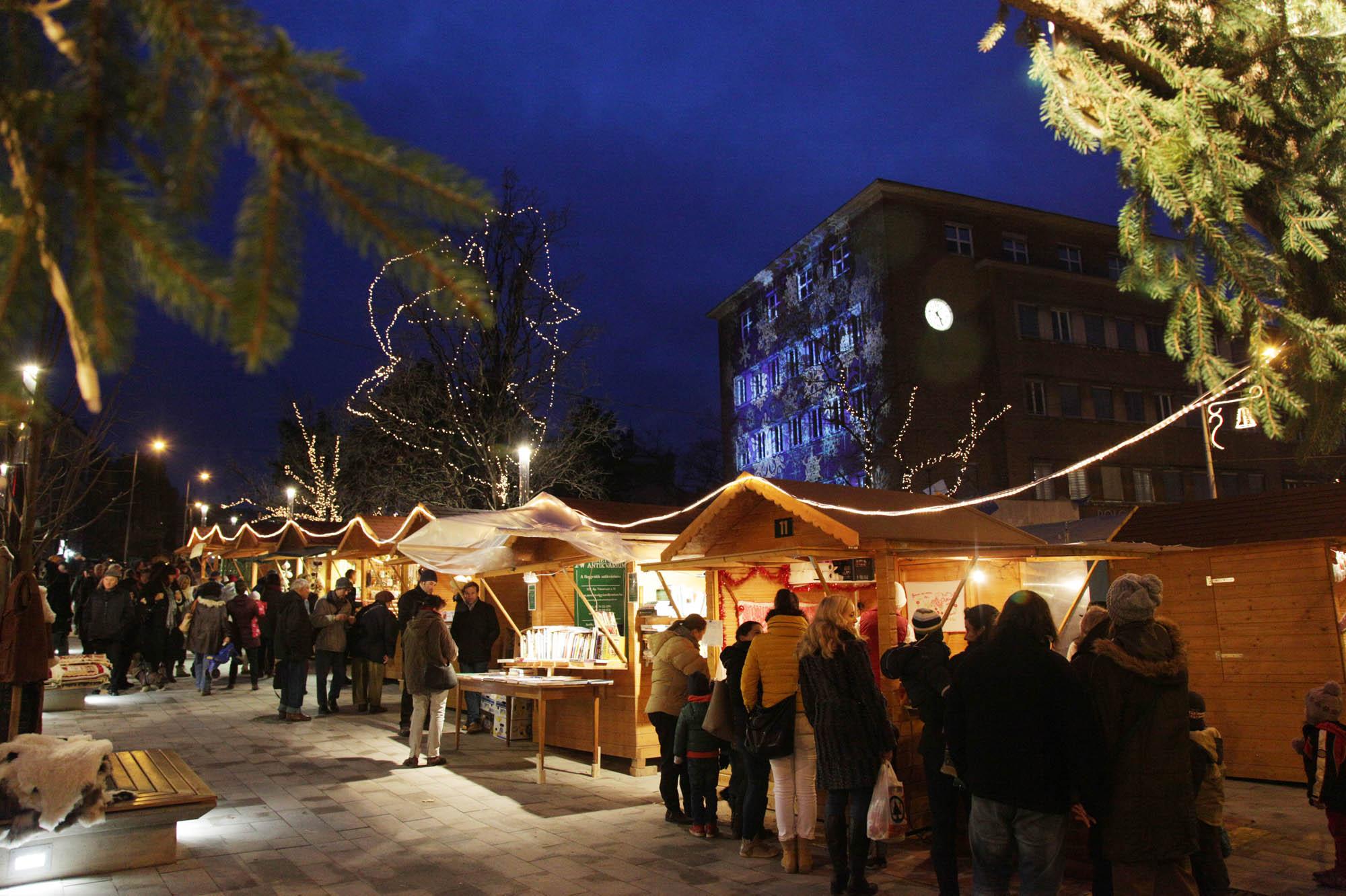 Pavilonbérlés a XII. kerületi karácsonyi vásárra