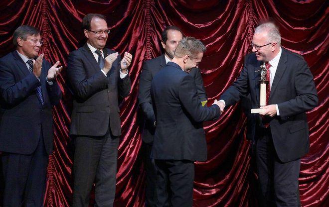 Krisztik Csaba színművész kapta a Kaszás Attila-díjat
